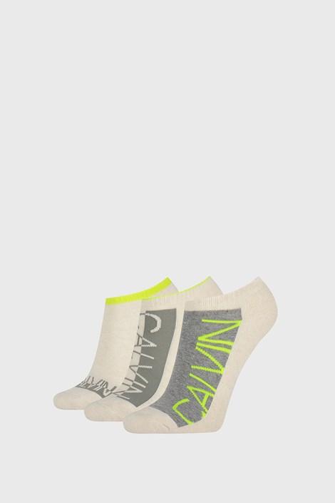3 ПАРИ жіночих шкарпеток Calvin Klein Nola бежеві