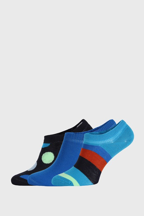 3 ПАРИ шкарпеток Happy Socks Stripes No Show