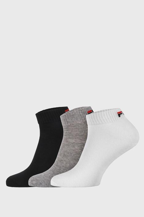 3 ПАРИ низьких шкарпеток трьох кольорів FILA