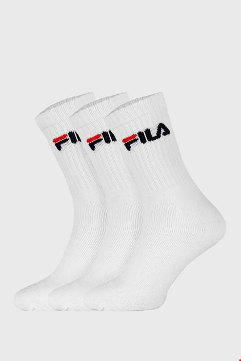 3 ПАРИ білих високих шкарпеток FILA