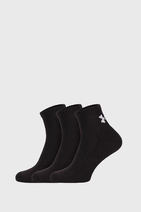 3 ПАРИ чорних шкарпеток Core Under Armour