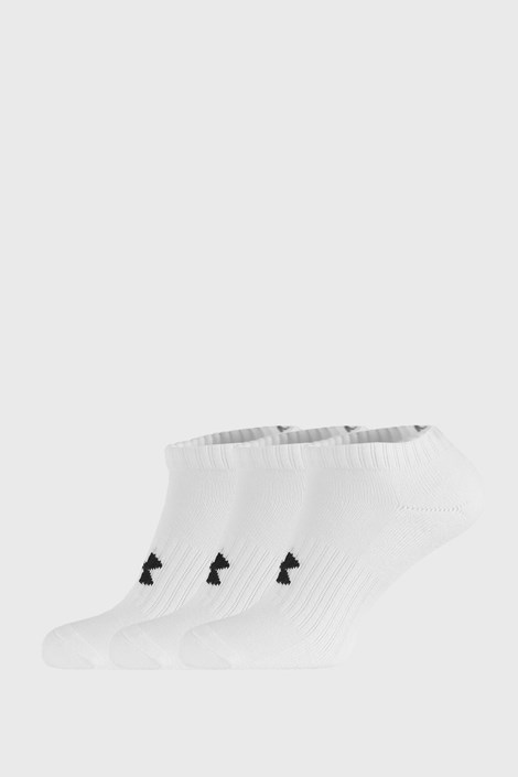 3 ПАРИ низьких білих шкарпеток Core Under Armour
