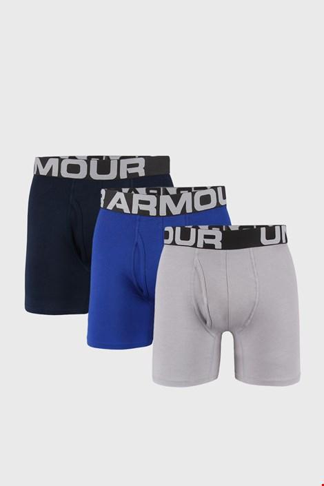 3 ШТ синьо-сірих трусів боксерів Under Armour Cotton