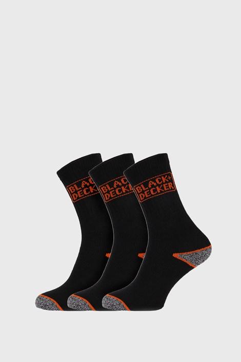 3 ПАРИ робочі шкарпетки Black and White
