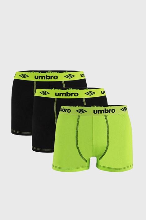 3 ШТ чорно-зелених боксерок Umbro BIO
