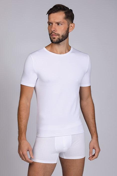 Біла термо футболка Short basic
