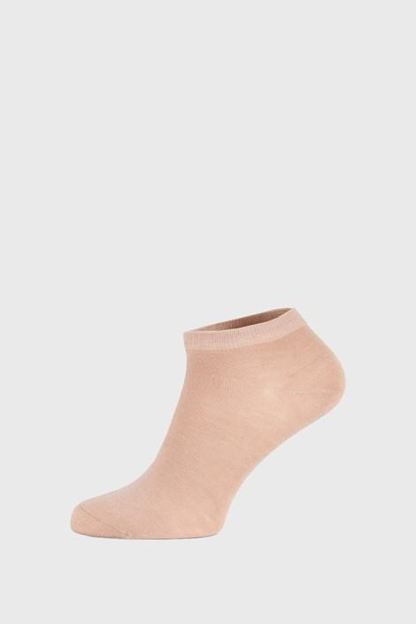 Бежеві бамбукові шкарпетки низькі