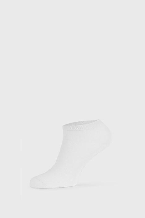 Білі бамбукові шкарпетки низькі