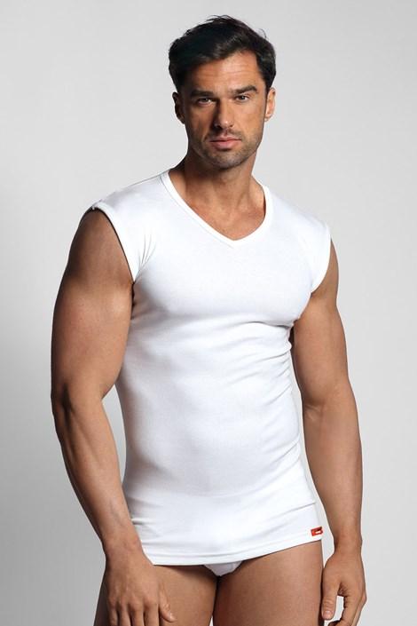 Біла термо футболка без рукавів
