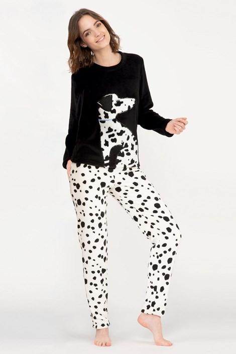 Жіноча тепла піжама Dalmatine