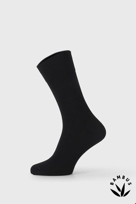 Чорні бамбукові вечірні шкарпетки Bellinda