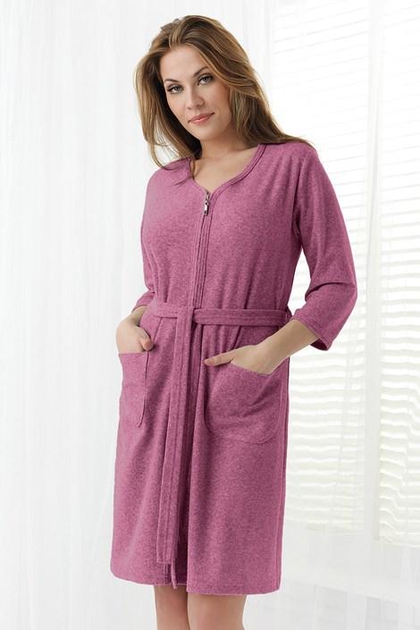 Жіночий махровий халат Anna
