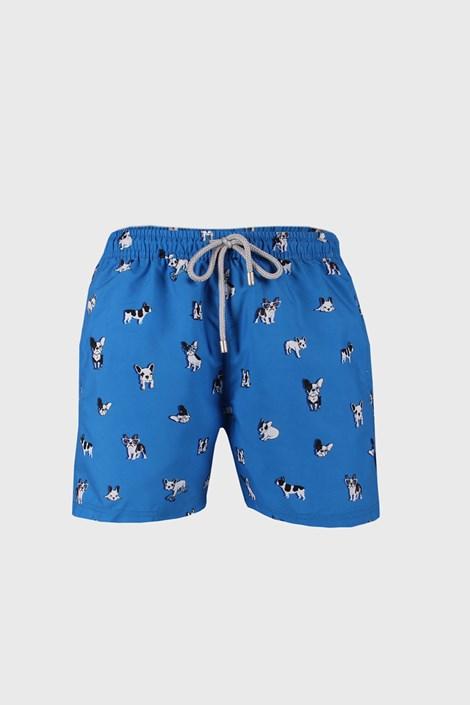 Блакитні пляжні шорти Bulldog