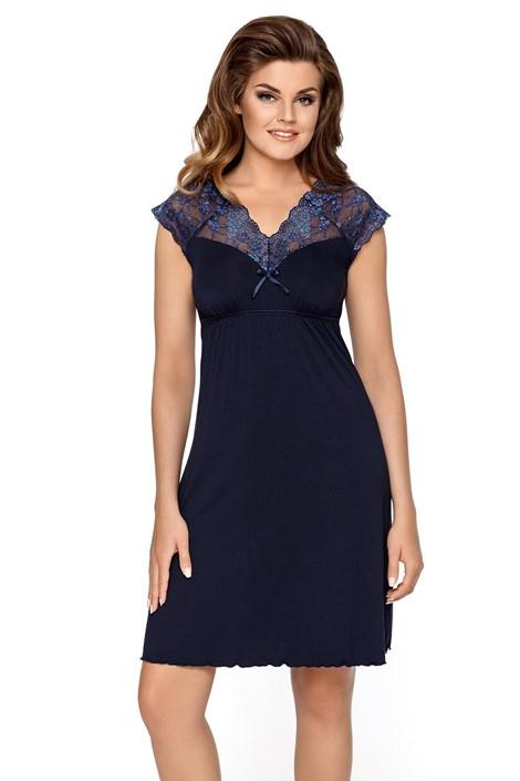 Жіноча нічна сорочка Liliana темно-синя