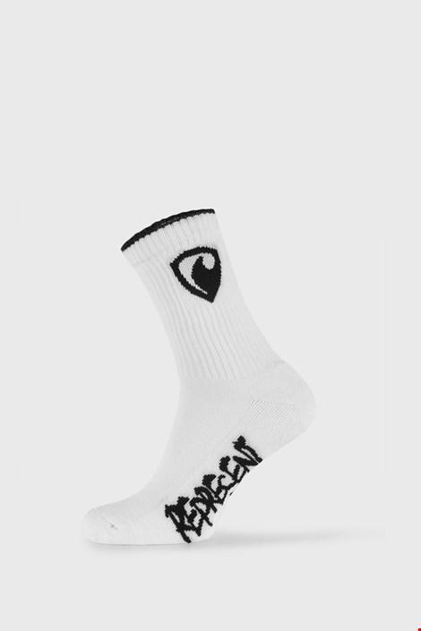 Білі шкарпетки Represent Long