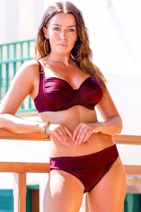 Жіночий роздільний купальник Chloe Grape