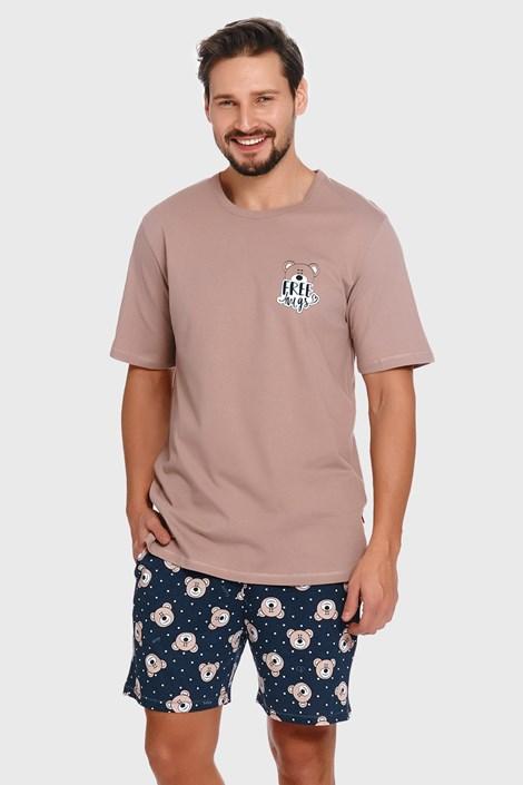 Бежево-синя піжама Bear