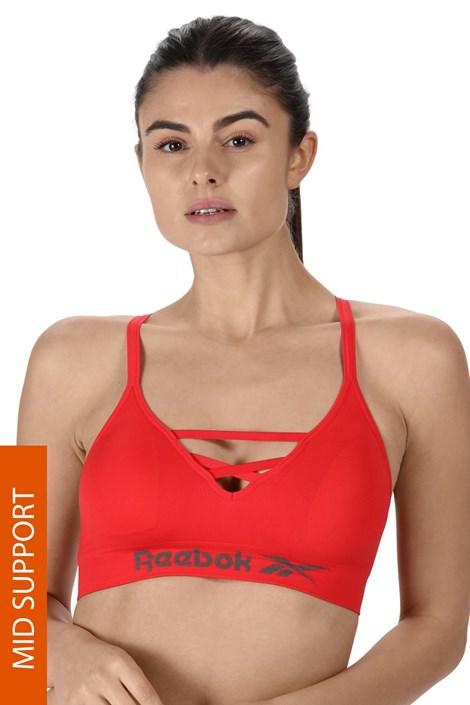 Жіночий спортивний бюстгальтер Reebok Maryna червоний
