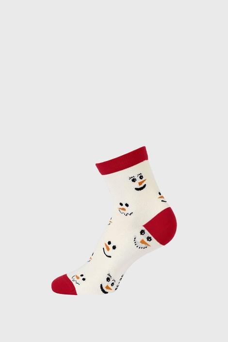 Дитячі різдвяні шкарпетки Snowman
