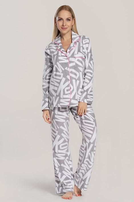 Жіноча піжама DKNY Festive Beast сіра