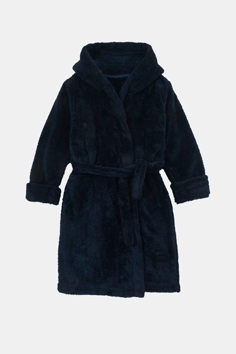 Темно-синій халат для хлопчиків